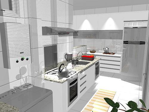 93405 fog%C3%A3o para cozinha planejada 10 Fogão para Cozinha Planejada Modelos, Fotos