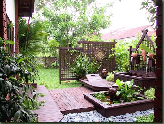 Decora o de jardim externo - Ideas for small garden spaces minimalist ...