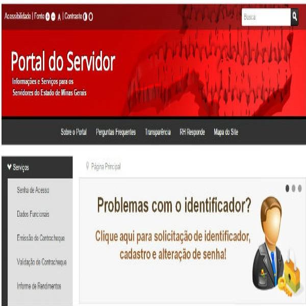 95375 portal do servidor de minas gerais 600x600 Contra Cheque MG Portal do Servidor