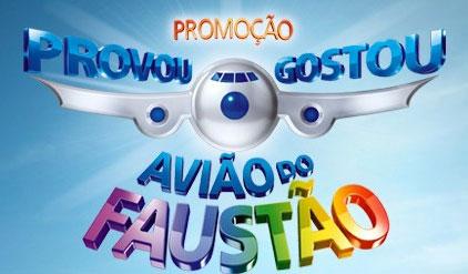 99671 Promoção Provou Gostou inscrições 02 www.provougostou.com.br, Promoção P & G Avião do Faustão