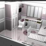 99819 ambiente homogeneo na decoração 150x150 Moveis Planejados para Quarto de Bebê