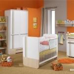 99819 tendencia de cores fortes nas paredes para realçar o mobiliario 150x150 Moveis Planejados para Quarto de Bebê