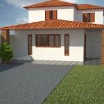 Casa2c 150x150 Planta de Casas 2 Pisos