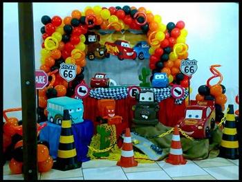 Infantil Carros Disney3 150x150 Decora    O Para Festa  Carros Disney