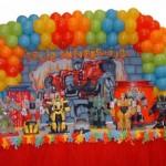 Decoração Transformers Infantil 150x150 Decoração Transformers Infantil