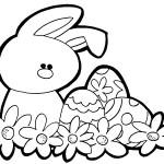 Desenhos e Figuras de Coelhinho da Páscoa para Colorir 150x150 Desenhos e Figuras de Coelhinho da Páscoa para Colorir