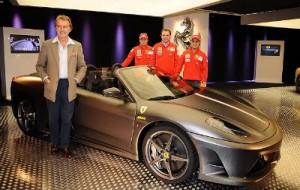 Ferrari Celebra 16º Título na F1