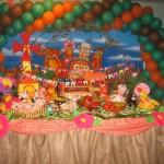 Festa Junina Cocorico 150x150 Decoração de Festa Junina Infantil