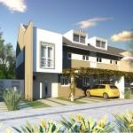 PRIVILEGE Fachada Casa Marseille 150x150 Fachadas Residenciais Modernas