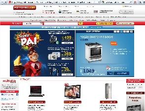PontoFrio.com Eletronicos Eletrodomesticos Celulares Informatica CineFoto e muito mais Mozilla Firefox Site Ponto Frio   www.pontofrio.com.br