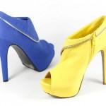 ankle boots colors 150x150 Sapatos para Festa, Modelos, Fotos
