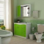 banheiro simples e bonito com banheira 150x150 Decoração para Banheiros Simples
