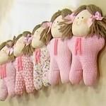 boneca1 150x150 Decoração Quarto Infantil com Bonecas de Pano