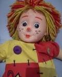 boneca10 121x150 Decoração Quarto Infantil com Bonecas de Pano