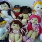 boneca11 150x150 Decoração Quarto Infantil com Bonecas de Pano