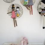 boneca5 150x150 Decoração Quarto Infantil com Bonecas de Pano