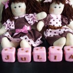 boneca6 150x150 Decoração Quarto Infantil com Bonecas de Pano