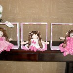 boneca7 150x150 Decoração Quarto Infantil com Bonecas de Pano