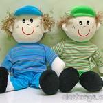 boneco12 150x150 Decoração Quarto Infantil com Bonecas de Pano