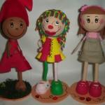 boneco9 150x150 Decoração Quarto Infantil com Bonecas de Pano