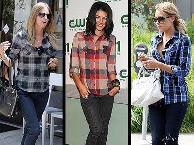 camisa xadrez feminina fotos modelos 1 Camisa Xadrez Feminina Fotos, Modelos