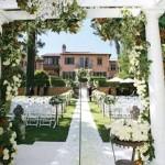 casar em casa decoração jardim 150x150 Decoração Moderna para Casamento