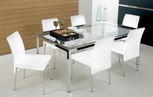 Conjunto de Mesa e Cadeiras de Jantar