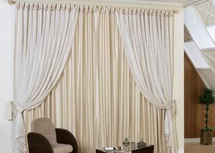 cortinasparadecorao Cortinas para decoração