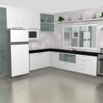 cozinha planejadas pequenas decorada americana modulada luxo moderna 24 150x150 Cozinhas Americanas Decoradas