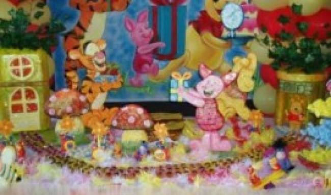 decoração artesanal de festa infantil 3 Decoração Artesanal De Festa Infantil