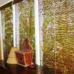 decoração com cortinas de bambu 150x150 Decoração Com Cortinas De Bambu