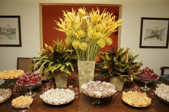 decora%C3%A7%C3%A3o com flores 3 Decoração Com Flores Para Festas, Fotos