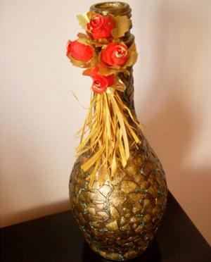 decoração com garrafas recicladas 1 Decoração Com Garrafas Recicladas