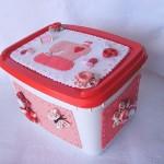 decoração em potes de sorvete como fazer 1 150x150 Decoração Em Potes De Sorvete Como Fazer