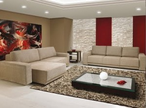 decoração sala de estar 300x222 Fotos Sala de Estar Decorada