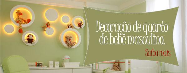decoracao de quarto de bebe masculino 150x150 Decoração de Quarto de