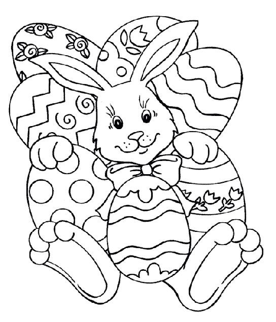 desenhos de páscoa para colorir 8 Desenhos De Páscoa Para Colorir