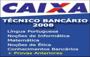 Edital CEF 2008 – Caixa Economica Federal
