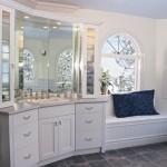 espelho11 150x150 Decoração de Banheiro com Espelhos Fotos