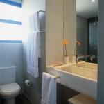 espelho31 150x150 Decoração de Banheiro com Espelhos Fotos
