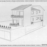 fabíola perspec 150x150 Planta de Casas 2 Pisos