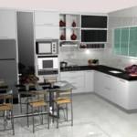 fotos de cozinhas planejadas pequenas 3 150x150 Fotos De Cozinhas Planejadas Pequenas
