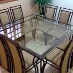 mesa de jantar com oito lugares 1 150x150 Mesa de Jantar 6 Lugares Retangular
