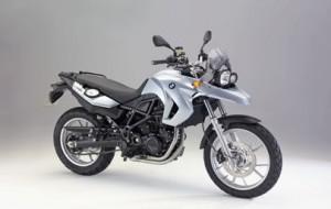 Foto da Nova Moto da BMW F 650 GS