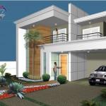 novo 1 150x150 Fachadas Residenciais Modernas