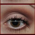 olhos marrom avermelhado 150x150 Maquiagem Marrom Passo a Passo