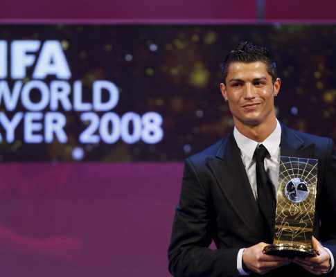 13104564 Melhor Jogador do Mundo de 2008: Cristiano Ronaldo