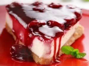 Cheesecakedeframboesa Receita: Cheesecake de framboesa