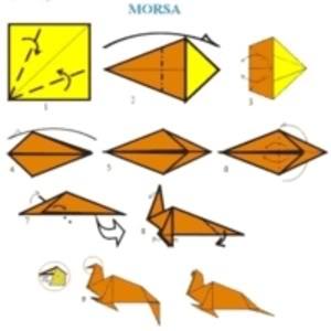 ComoFazerOrigamideAnimais Como Fazer Origami de Animais