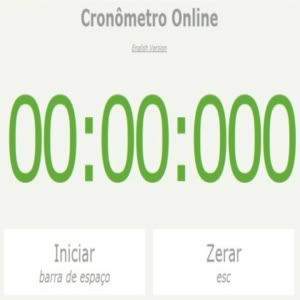 CronmetroOnline Cronômetro Online